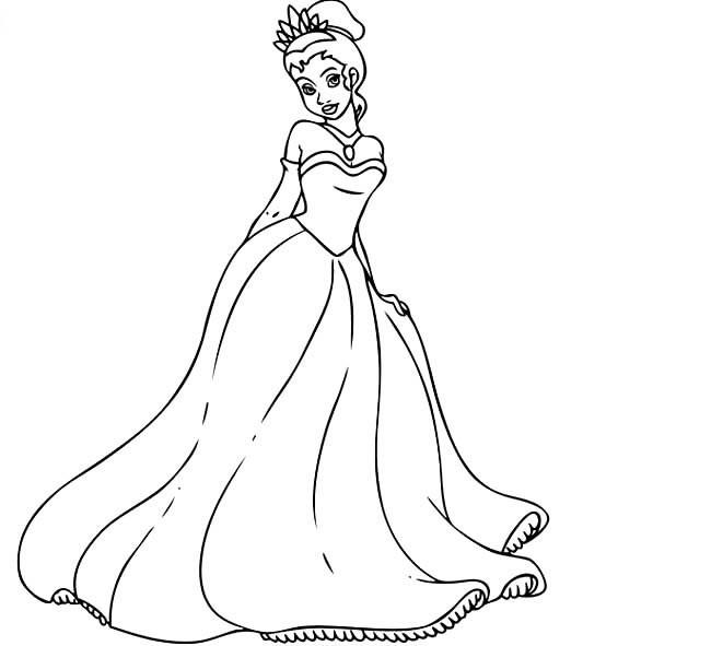 公主简笔画怎么画
