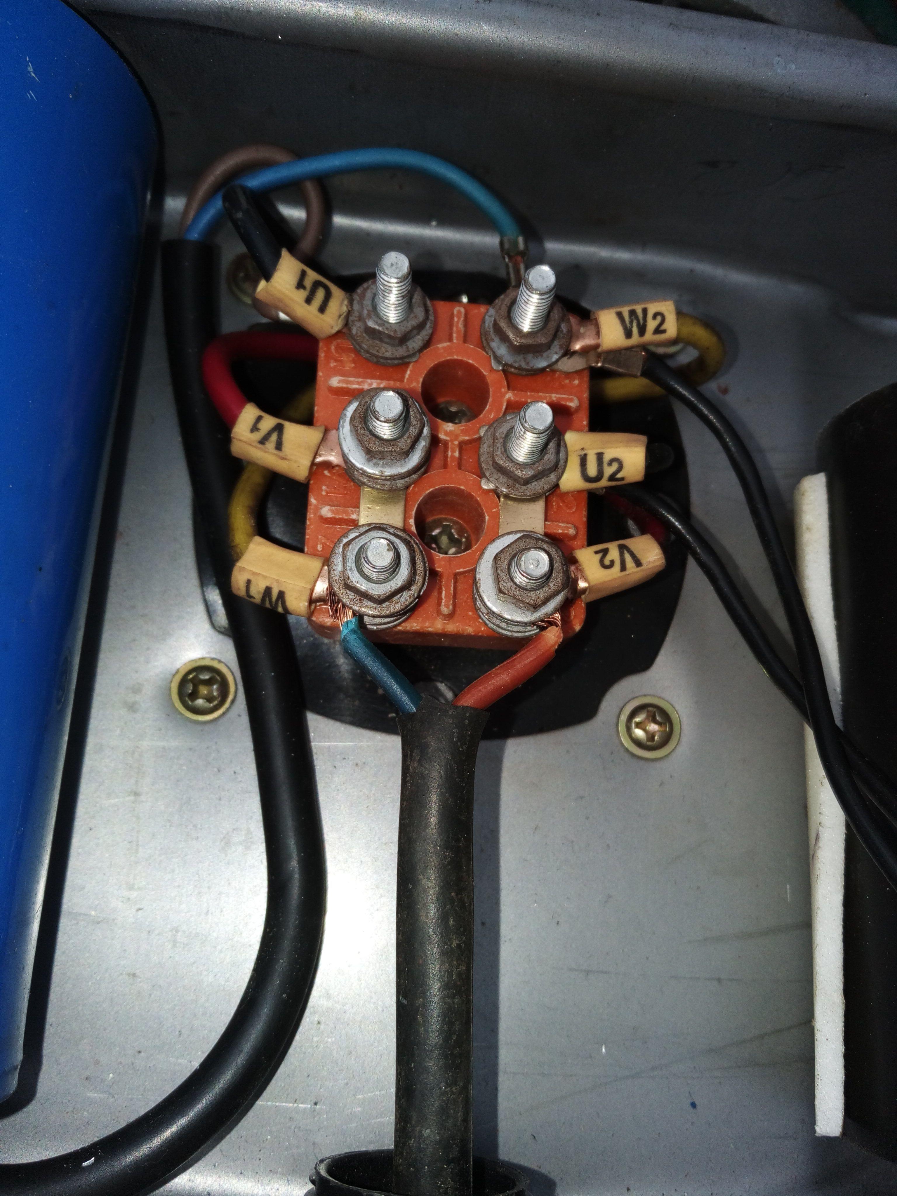 单相电机接线
