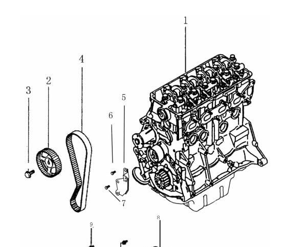 4g18发动机正时图片