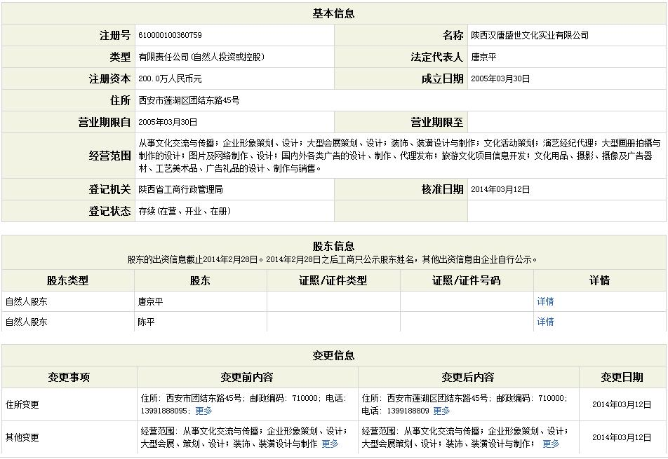 企业信用信息公示系统