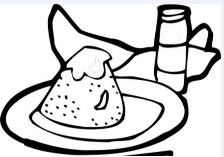 端午节的粽子简单图怎么画?