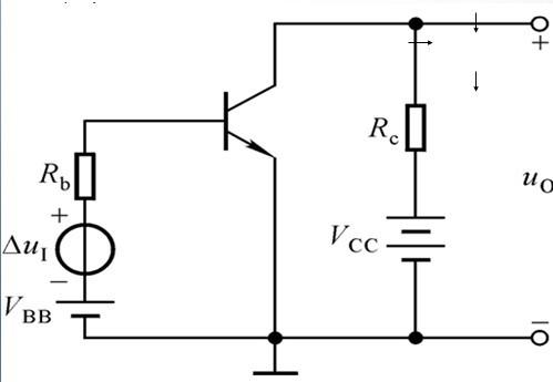 电路中npn型三极管的基极电位为2.1v,发射极电位为2.