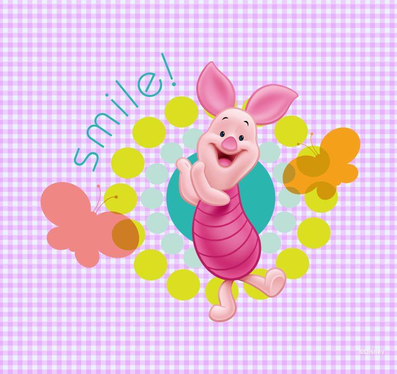 急求白白猪和小熊维尼中的小猪图片