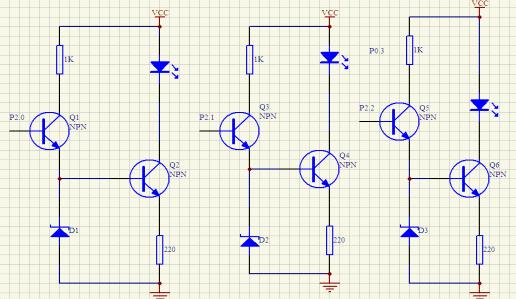 恒流led 驱动电路
