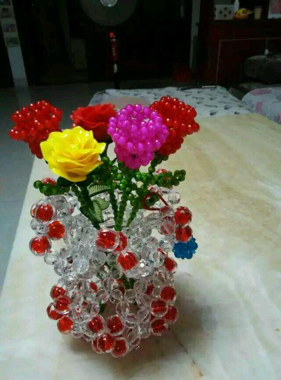 串珠玫瑰花怎么卖出去,或者有没有收购的!