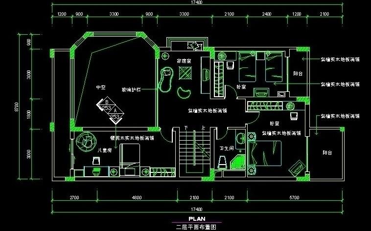 求一套中式别墅设计的平面图