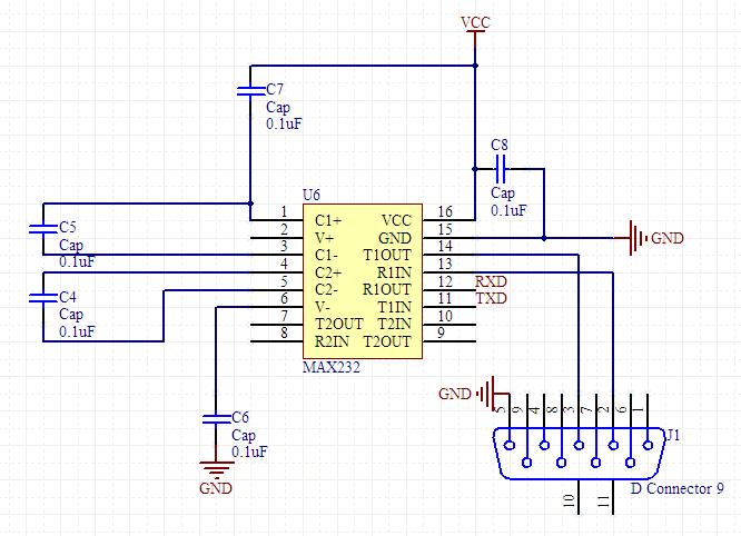 usb转232的pl2303典型电路(输出为标准rs232或ttl都行