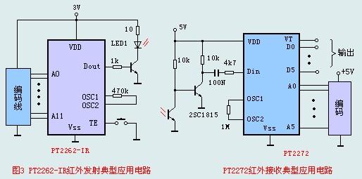 pt2262 pt2272电路图