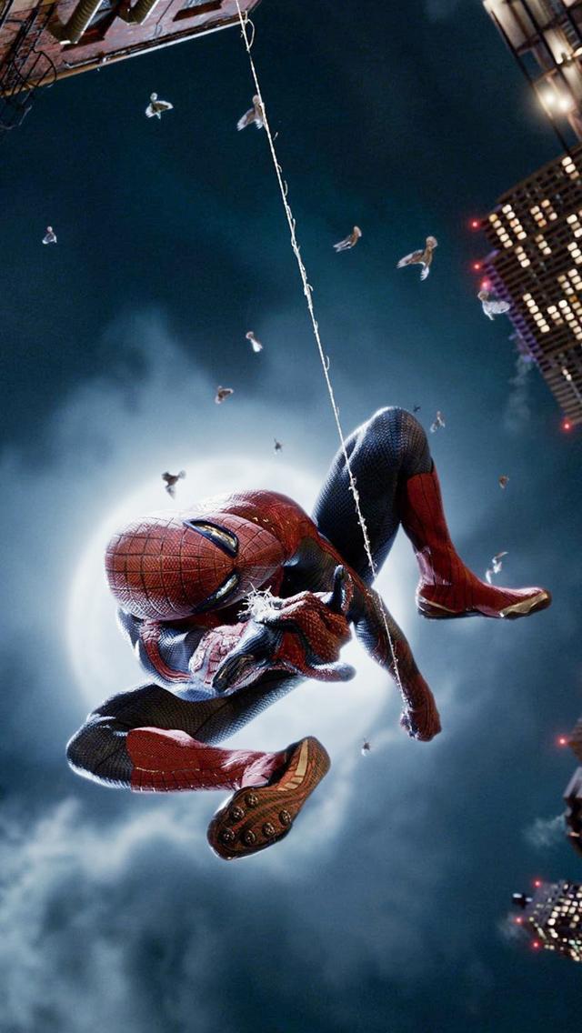 谁有这张蜘蛛侠高清手机壁纸?就是超凡蜘蛛侠最后的_百度知道