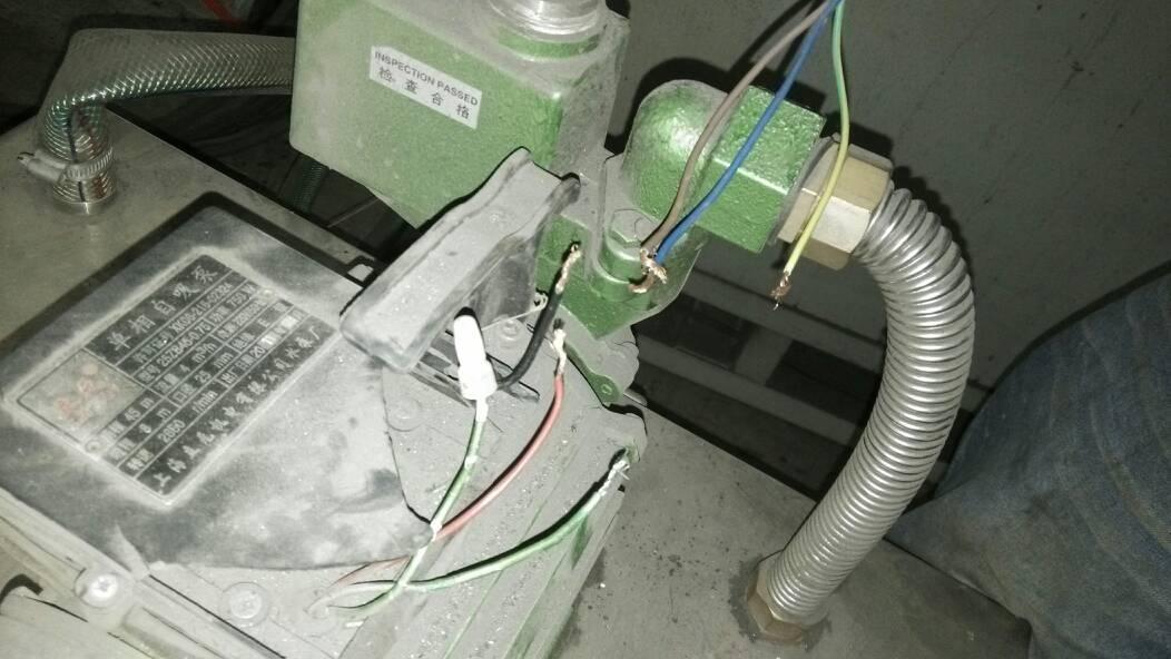 求大神自吸水泵接线