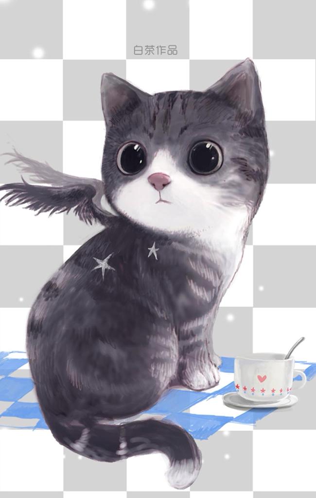 求个可爱的动物图做qq头像