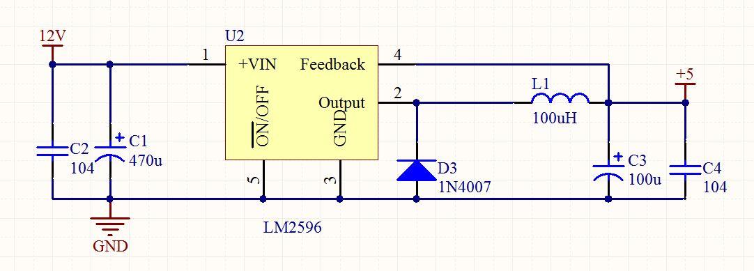 正负极接反时,不致电路损坏,,,谢谢. 修改图中参数,要求输出3.3v.