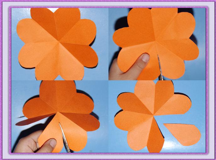 怎样折立体花的贺卡(视频)
