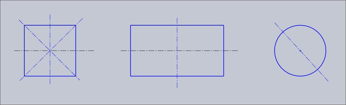 长方形正方形圆形各有几条对祢轴