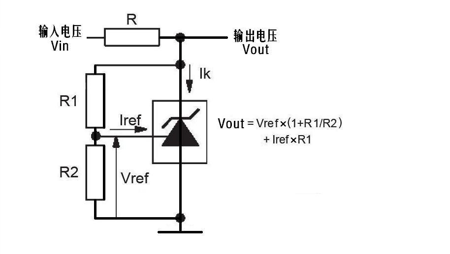 tl431稳压电路怎么接