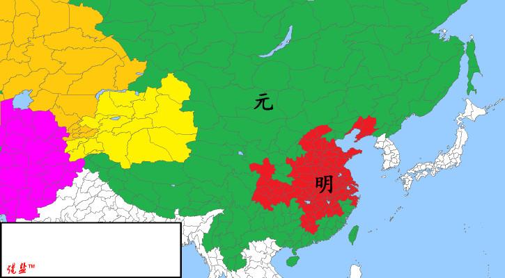 明初北京城平面图