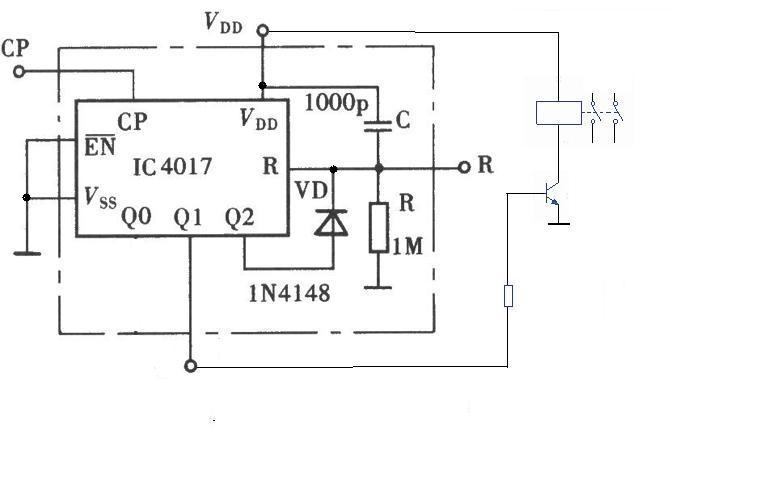 谁个设计个继电器控制电磁阀的电路图