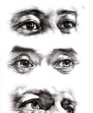 素描怎么画眼睛步骤图