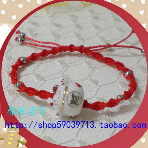 求这种手绳的编织方法,急求!跪求啊!