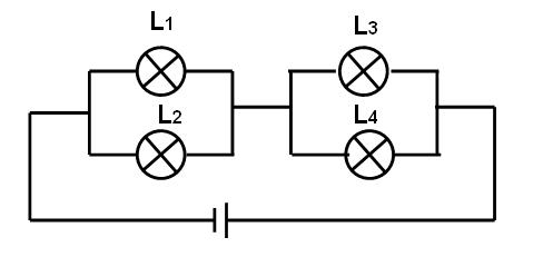 初中物理电路图求解