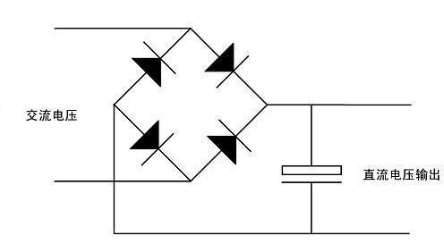 一块电路板上有三个二极管一个电容是干什么的