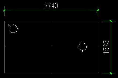 谁有cad的乒乓球桌的平面图啊~~~~ wen_0_wen@live.cn