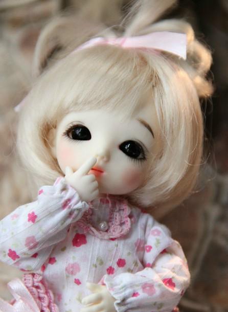 很唯美,经常用作qq头像的洋娃娃叫什么?