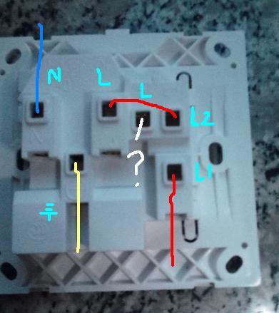 五孔一开插座怎么接线