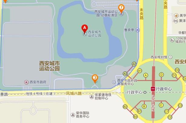 西安公园v公园标题地铁站b口是方向广城市报别墅图片