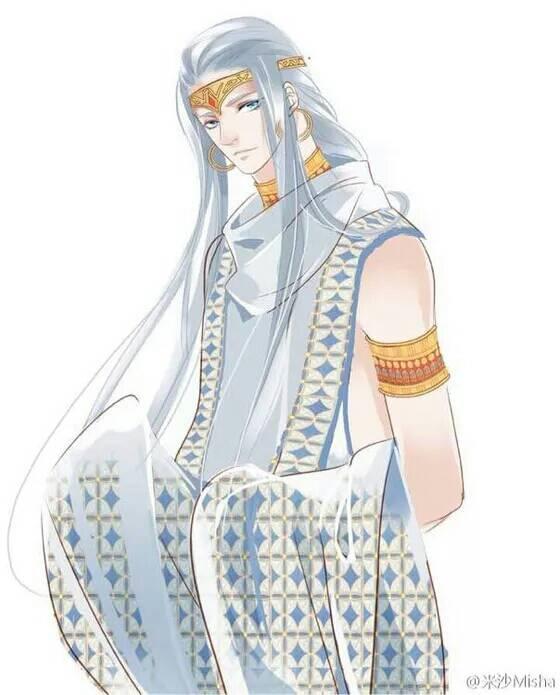 《法老的宠妃》高清漫画图片,大神们