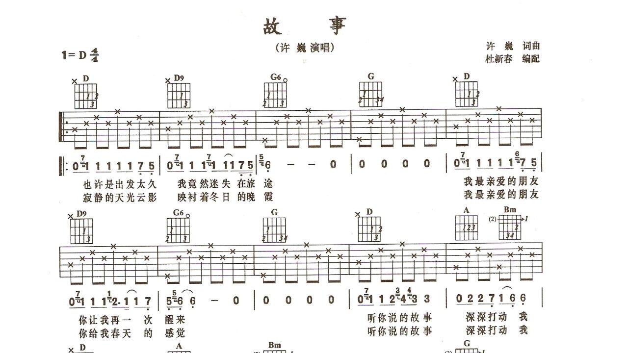 谁有天空之城吉他谱?带和弦图,就像下图这样 452322950 @qq.com
