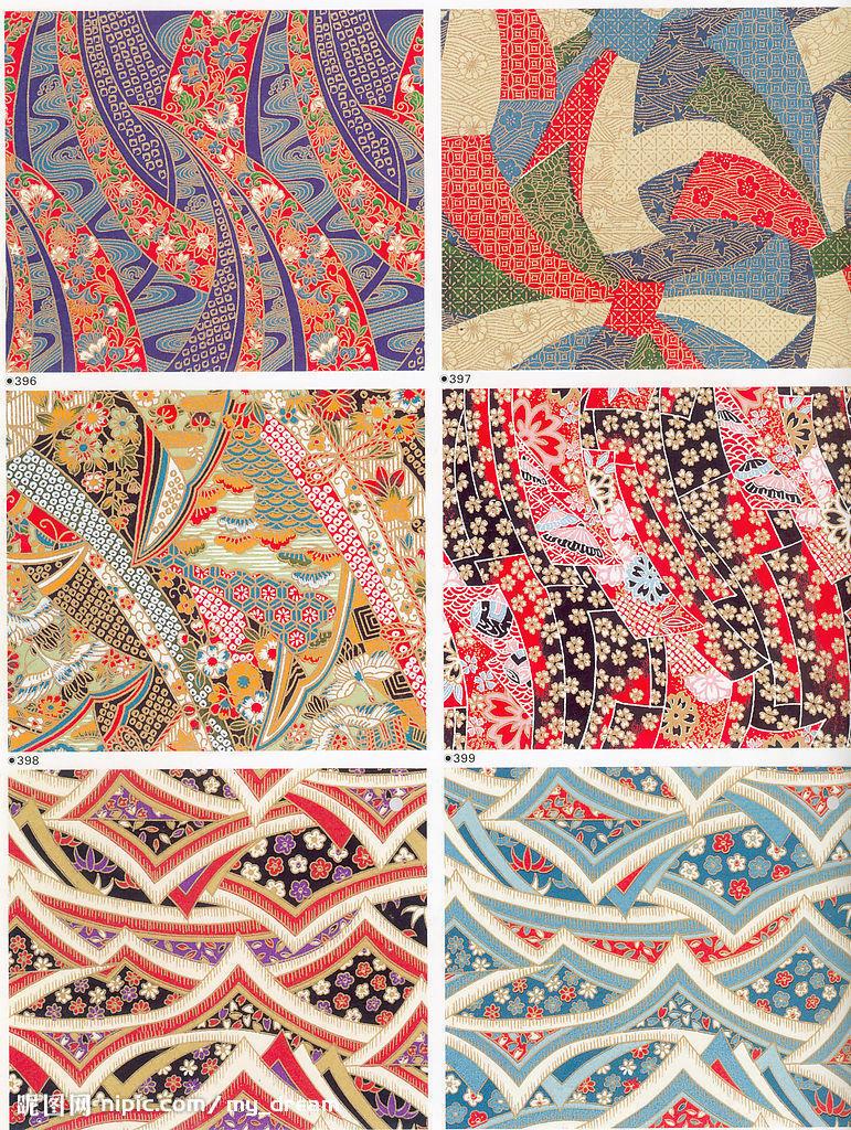 sai画图,谁有那些日本风的花纹素材啊?
