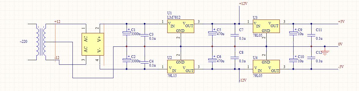 直流稳压电源输出波形不稳