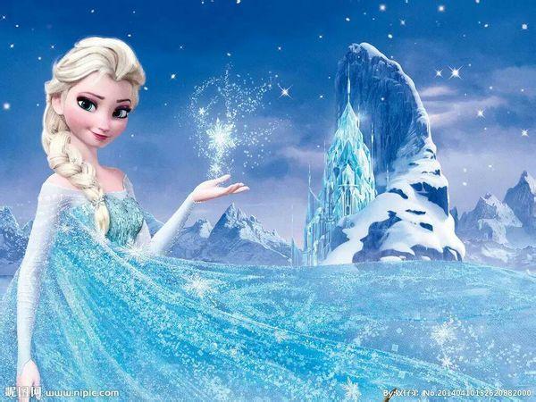 冰雪奇缘艾莎高清大图10张