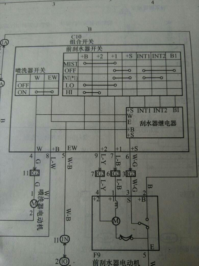 该电路图中的 s int1 int2 b1是什么?
