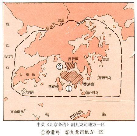 英国为什么要割占香港岛