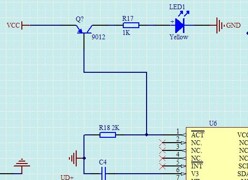 pnp三极管开关电路 有图 在线等