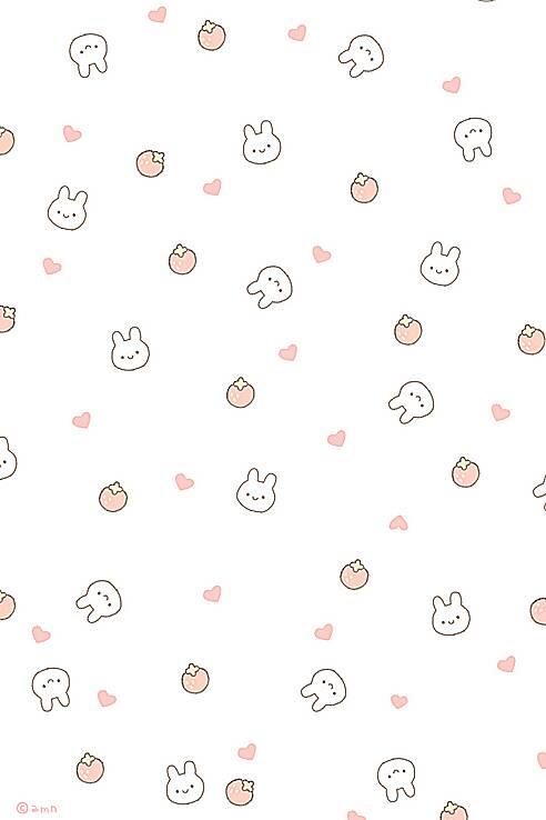 有没有一堆兔子的可爱卡通图片^ω