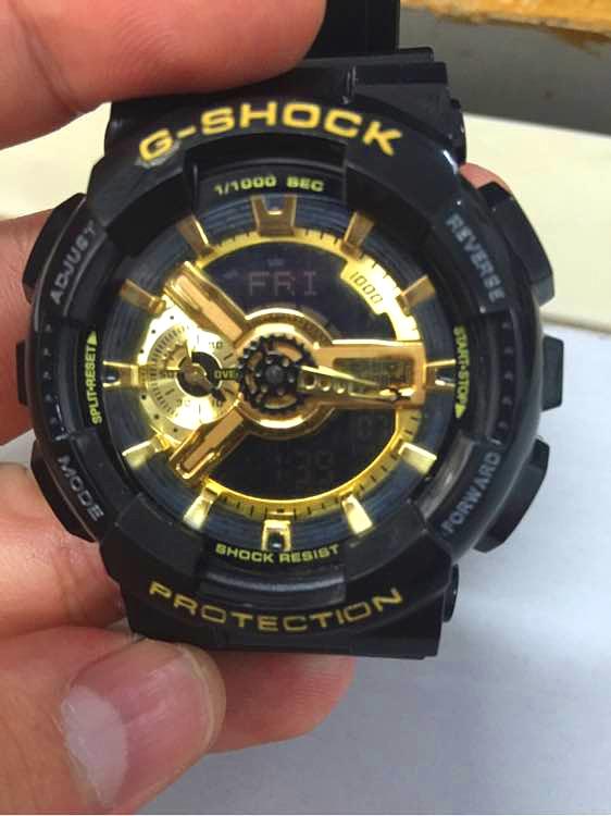 指针和时间不对……怎么调……卡西欧……运动手表