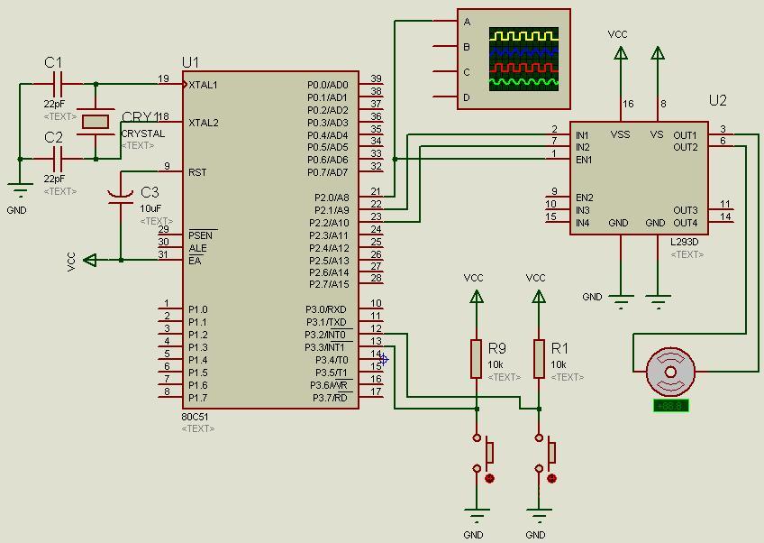 基于proteus的直流电机调速c程序
