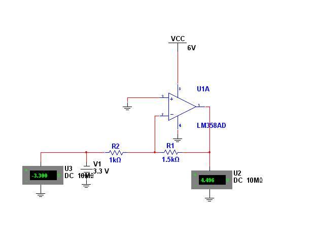 lm358放大器电路