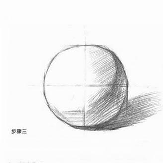 结构素描,球体的画法,素描入门如何画好球