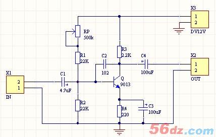 音频放大电路,三极管放大电路