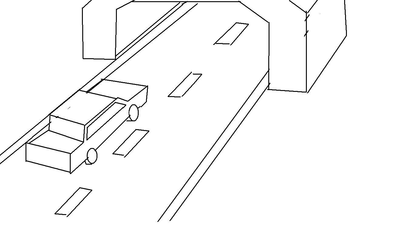 工程图 简笔画 平面图 手绘 线稿 1374_798