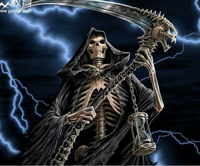 死神镰刀图片