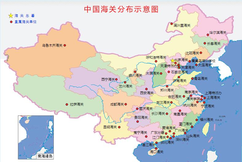 幼儿园卡通城市标志地图