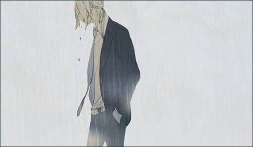找一些很落寞很孤独 悲伤的,消极的动漫图片,就像这样