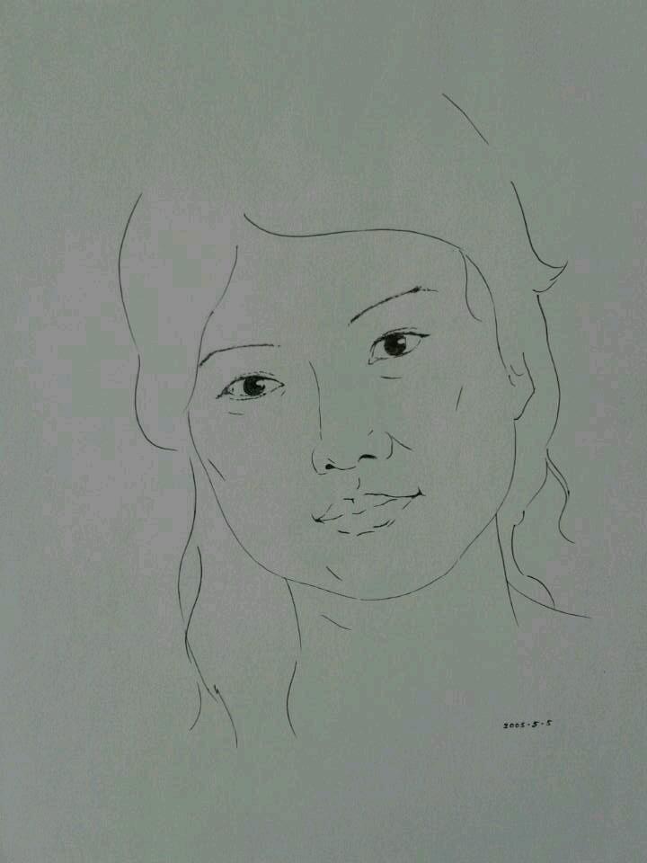 简笔画 手绘 素描 线稿 720_960 竖版 竖屏图片