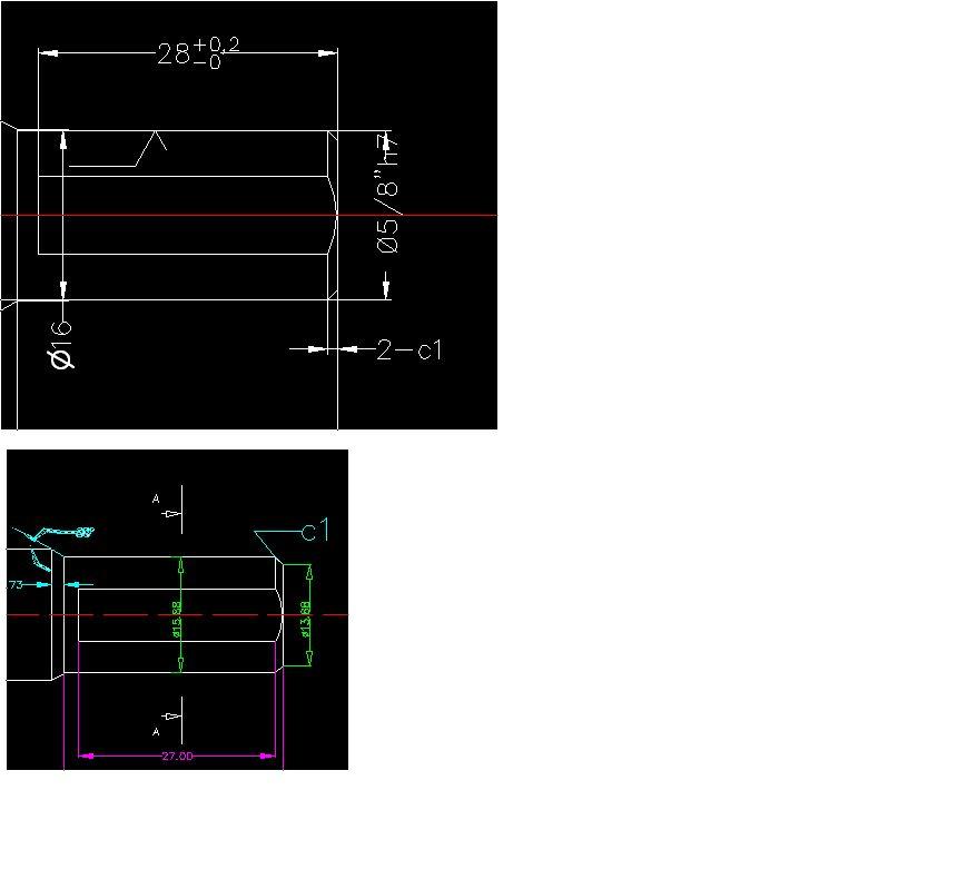 CAD问题v问题机械标注的倒角北辰御花园图纸图片