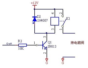 要用51单片机做一个饮水机自动控制系统,如何用单片机控制电磁阀来图片